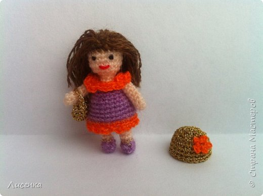 Миниатюрная куколка Лиля фото 5