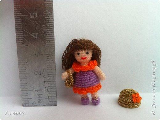 Миниатюрная куколка Лиля фото 6