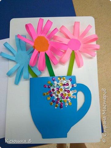 С дошколятами делали подарки для любимых мам)  фото 3