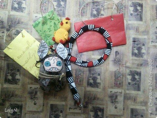 Подарочный пакет из упаковочной бумаги фото 2