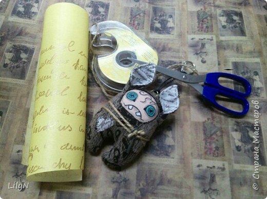 Подарочный пакет из упаковочной бумаги фото 3