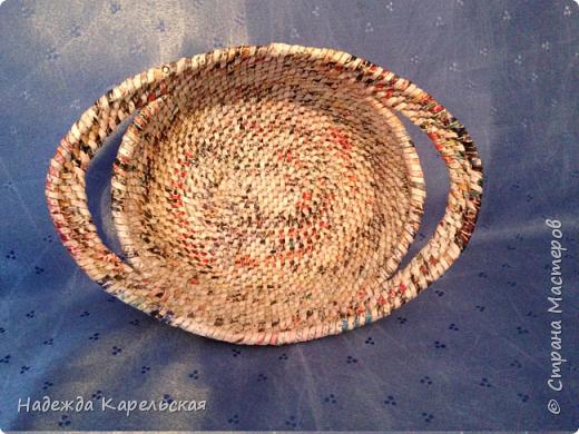 """Очень понравились работы Елены Ламониной , выполненной в технике """"плетения из корня """", решила научиться плести в этой технике -вот ,что получилось.  фото 1"""