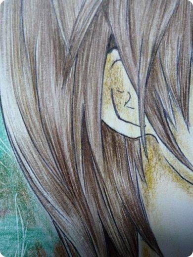 """Всем доброго вечера!) В этом блоге основное место отведено моему рисунку, но в конце есть еще немного фотографий не из этой оперы.  Это Лайт Уагами, персонаж аниме """"Тетрадь смерти"""".  фото 4"""