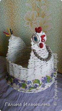 осваивала плетение курочек фото 2
