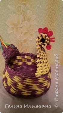 осваивала плетение курочек фото 1