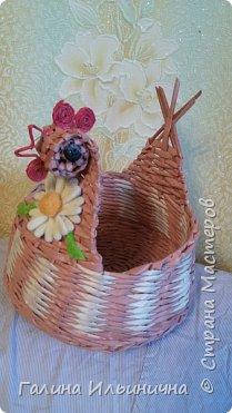 осваивала плетение курочек фото 5