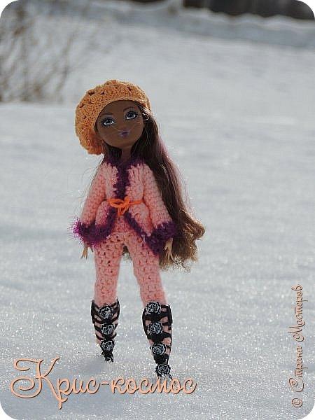 Привет, см! Мы с куклой вышли на прогулку.  фото 4