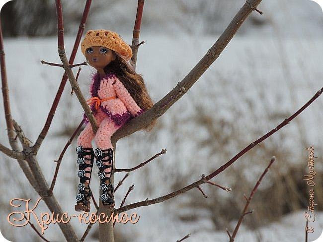 Привет, см! Мы с куклой вышли на прогулку.  фото 6