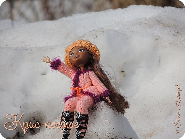 Привет, см! Мы с куклой вышли на прогулку.  фото 10