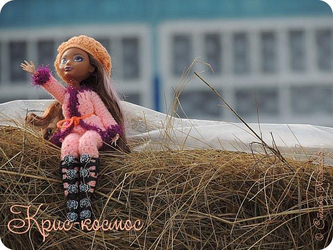 Привет, см! Мы с куклой вышли на прогулку.  фото 16