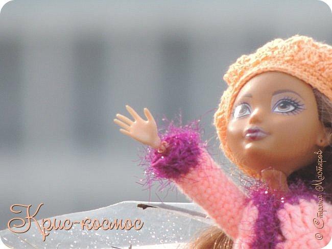 Привет, см! Мы с куклой вышли на прогулку.  фото 17