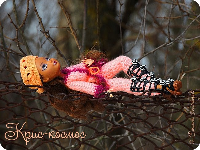 Привет, см! Мы с куклой вышли на прогулку.  фото 20