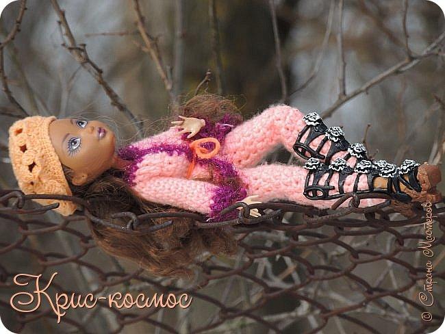 Привет, см! Мы с куклой вышли на прогулку.  фото 21