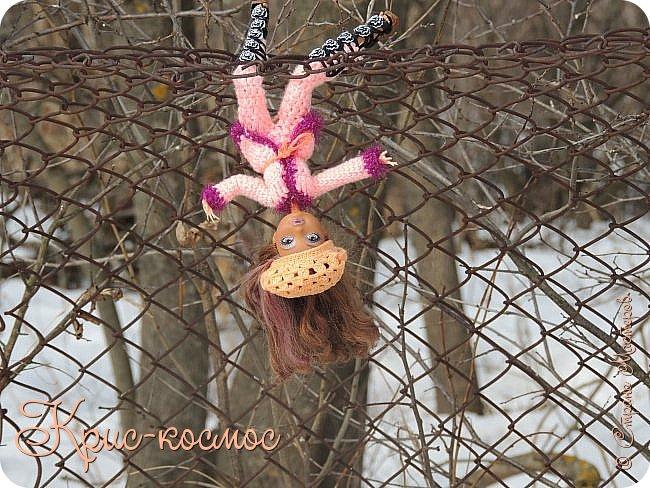 Привет, см! Мы с куклой вышли на прогулку.  фото 23