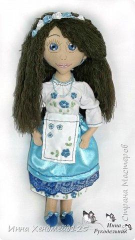 Мне очень нравится процесс создания текстильной куклы.  Вот решила поделиться своими первыми куколками. Это здорово - создавать такие вещи, отношусь к ним бережно и долго радуюсь результатом. фото 7