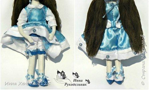Мне очень нравится процесс создания текстильной куклы.  Вот решила поделиться своими первыми куколками. Это здорово - создавать такие вещи, отношусь к ним бережно и долго радуюсь результатом. фото 3
