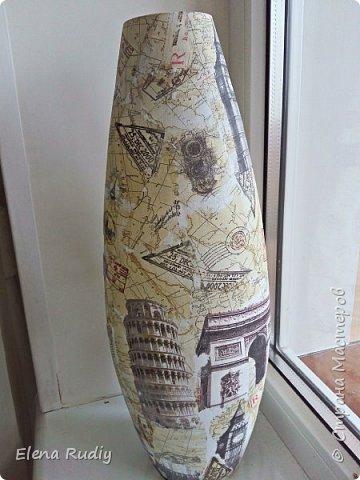 Давным-давно (лет 12-15 назад) подарил мне сын вазу. фото 5