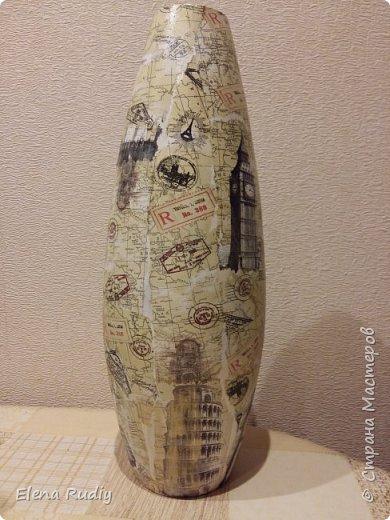 Давным-давно (лет 12-15 назад) подарил мне сын вазу. фото 6