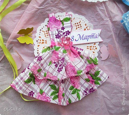 Здравствуйте, жители Страны Мастеров! Готовимся с детьми к празднику 8 марта. Сделали открытки в форме цветочного горшка. фото 13