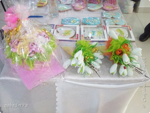 "Моя""проба пера"")))В букете в розах  конфетки ""золотая лилия"",в крокусах(марсианка) фото 5"