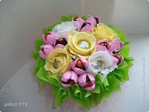 "Моя""проба пера"")))В букете в розах  конфетки ""золотая лилия"",в крокусах(марсианка) фото 1"