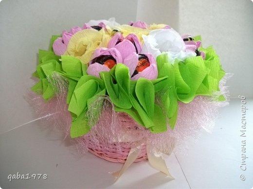 "Моя""проба пера"")))В букете в розах  конфетки ""золотая лилия"",в крокусах(марсианка) фото 2"
