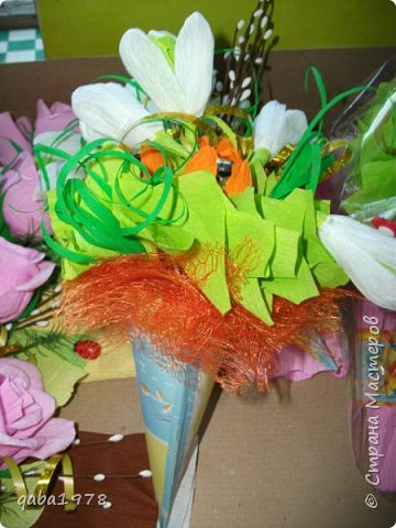 "Моя""проба пера"")))В букете в розах  конфетки ""золотая лилия"",в крокусах(марсианка) фото 4"
