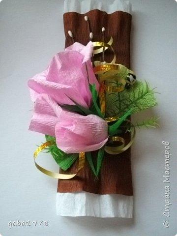 "Моя""проба пера"")))В букете в розах  конфетки ""золотая лилия"",в крокусах(марсианка) фото 6"