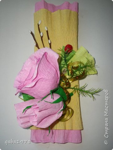 "Моя""проба пера"")))В букете в розах  конфетки ""золотая лилия"",в крокусах(марсианка) фото 8"