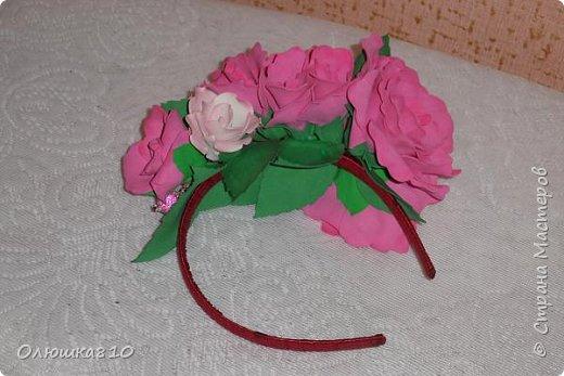 Ободочки и веночки из фоамирана фото 2