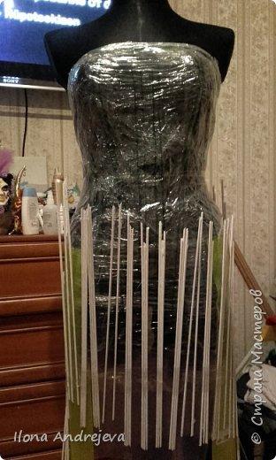 Эко платье.Авангард. фото 2