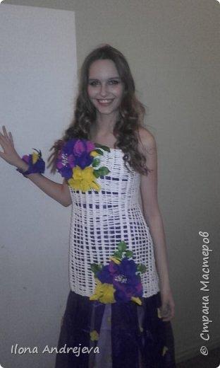 Эко платье.Авангард. фото 5