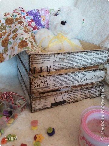Для приятных мелочей, творческого порядка или просто для порядка в доме!  фото 2