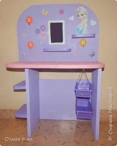 Вот такой столик для украшений для дочери сделала в подарок на 8 марта. фото 2