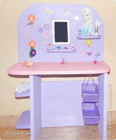 Вот такой столик для украшений для дочери сделала в подарок на 8 марта. фото 4