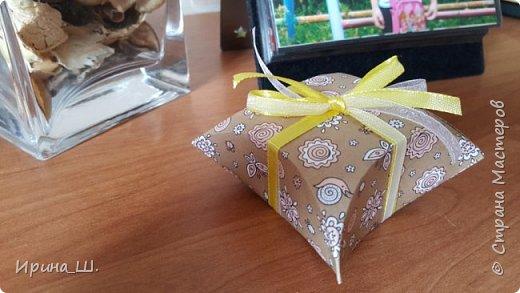 Делаем подарочную коробочку с помощью CD диска