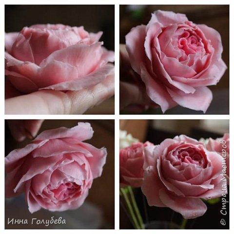 Привет всем жителям! Сегодня пионовидные розы и небольшой МК по ним) фото 13
