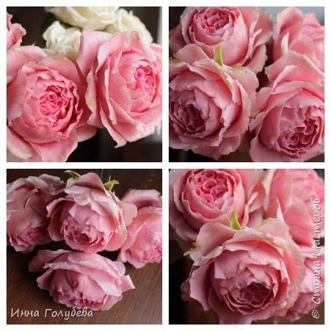 Привет всем жителям! Сегодня пионовидные розы и небольшой МК по ним) фото 16