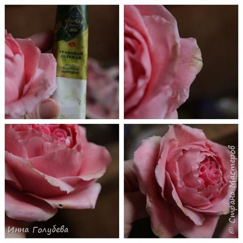 Привет всем жителям! Сегодня пионовидные розы и небольшой МК по ним) фото 15