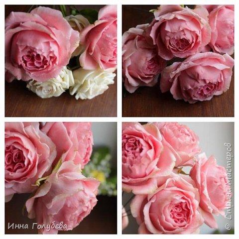 Привет всем жителям! Сегодня пионовидные розы и небольшой МК по ним) фото 17