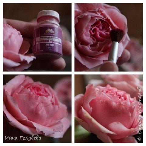 Привет всем жителям! Сегодня пионовидные розы и небольшой МК по ним) фото 14