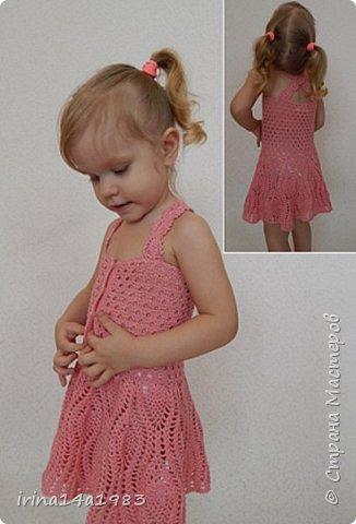 Всем привет, привет!!!! И опять убегаю вязать очередное платьице..... фото 3