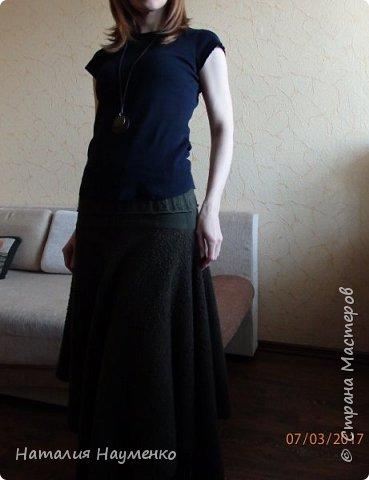На дворе март, а я решила выложить теплую юбку, сочиненную еще в начале зимы. фото 1