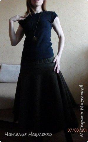 На дворе март, а я решила выложить теплую юбку, сочиненную еще в начале зимы. фото 3