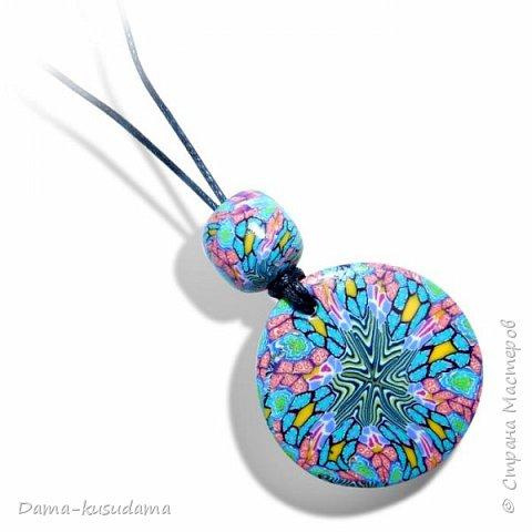 Наделала кулончиков в техниках Калейдоскоп и Мокуме Гане  фото 14