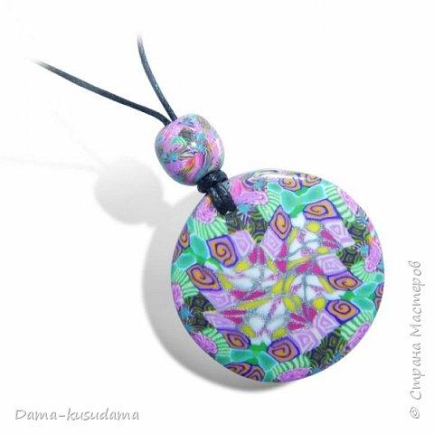Наделала кулончиков в техниках Калейдоскоп и Мокуме Гане  фото 16