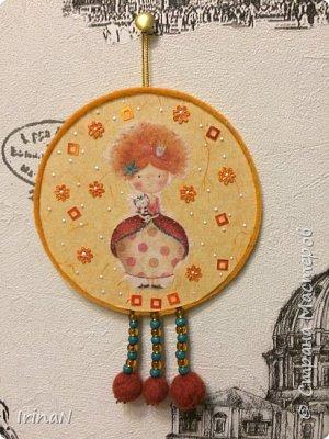 Всем доброго! Подарочки: маленькой девочке и воспитателю. На основе cd диска.  фото 1