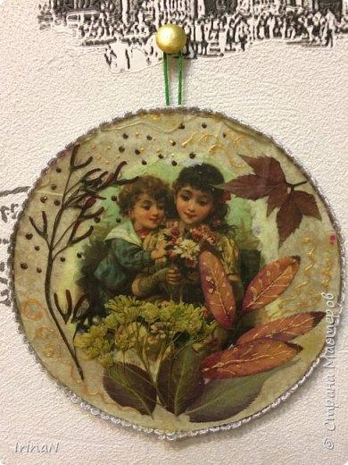 Всем доброго! Подарочки: маленькой девочке и воспитателю. На основе cd диска.  фото 4