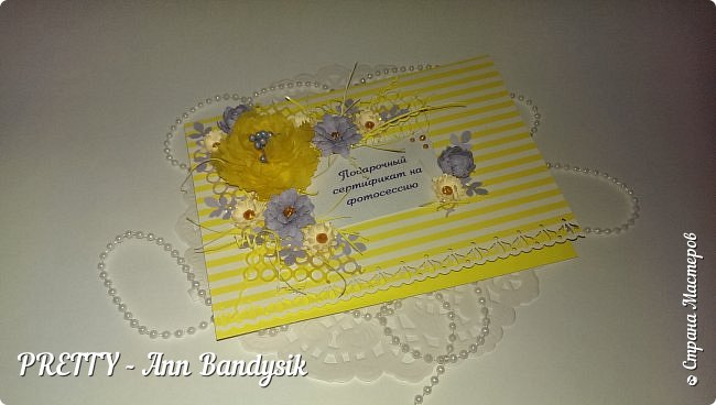 Подарочные цветочные сертификаты на фотосессию для фотографа! фото 7
