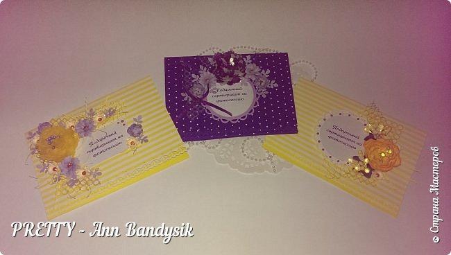 Подарочные цветочные сертификаты на фотосессию для фотографа! фото 4